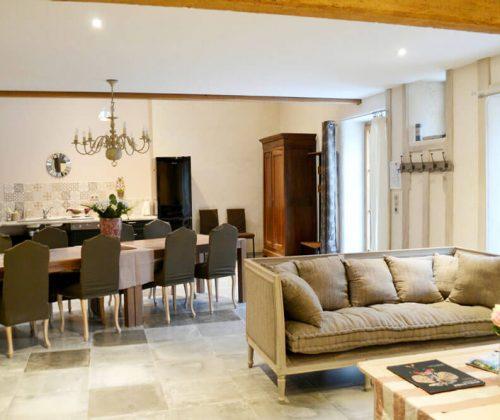 La Grange - Salon & cuisine